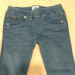 Like new! Hudson girls stretch skinny jeans size 5